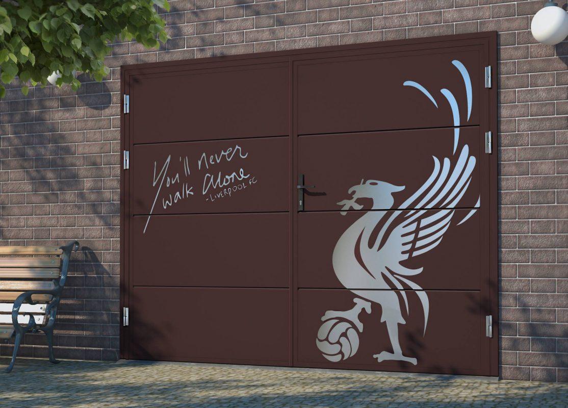 картинки рисунки на воротах
